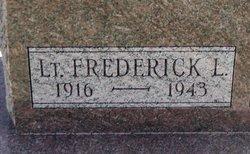 Lt Frederick L Angel