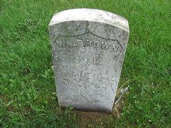 Pvt William B. Brown