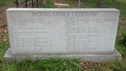 Thomas Family Cemetery