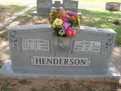 Aline J <I>Brauner</I> Henderson