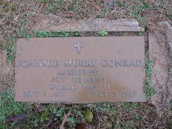 Pvt Johnnie Murry Conrad