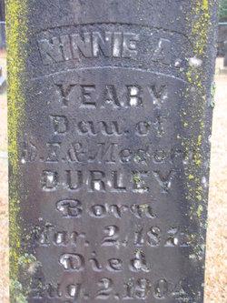 Ninnie A <I>Durley</I> Yeary