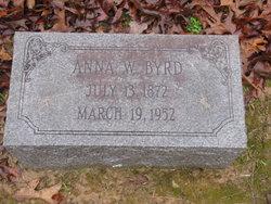 Anna W Byrd