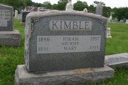 Mary <I>Kenney</I> Kimble
