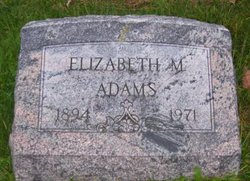 Elizabeth <I>Mackey</I> Adams