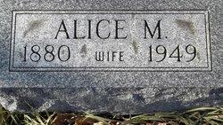 Alice M <I>Weakley</I> Adams