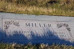 Bertha F Miller