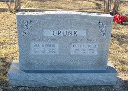 Max Manning Crunk