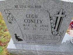 "Gemima ""Gegie"" <I>Gullett</I> Conley"