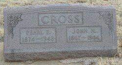 Pearl Estell <I>Barker</I> Cross