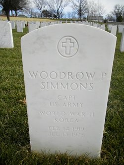 Woodrow P Simmons