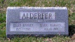 Helen <I>Madden</I> Alderfer