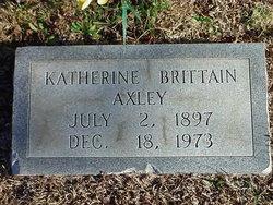 Mary Katherine <I>Brittain</I> Axley