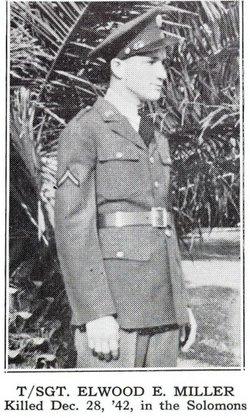 TSgt Elwood Eugene Miller