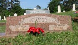 Mary Anna <I>Dean</I> Caver