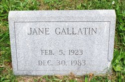 Jane Gallatin
