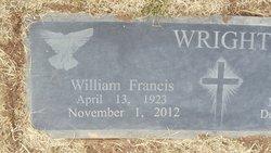 Dr William Francis Wright, Sr