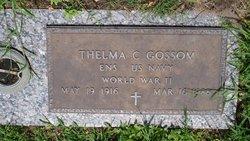 Ens Thelma <I>Chamberlain</I> Gossom