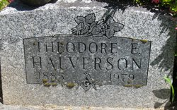 Theodore E Halverson