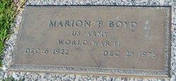 Marion P Boyd