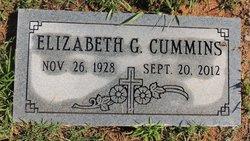 Elizabeth G <I>Waters</I> Cummins
