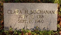 Clara <I>Hughes</I> Buchanan