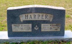 Philip Burkett Harper