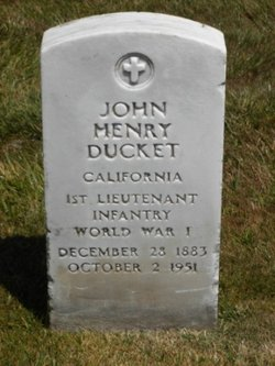 John Henry Ducket