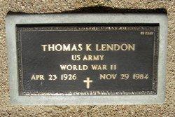 Thomas Keith Lendon