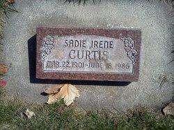 Sadie Irene <I>Carlson</I> Curtis
