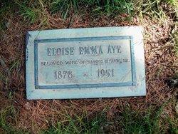 Eloise Emma <I>Bishoff</I> Aye