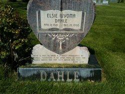 Elsie Wyoma <I>McDaniel</I> Dahle