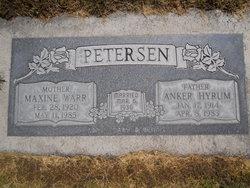 Maxine <I>Warr</I> Petersen