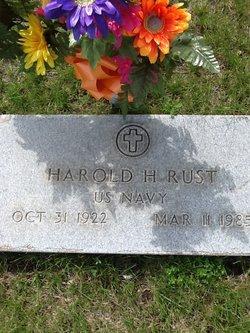 Harold H Rust