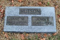 Margaret Jane <I>Jones</I> Hutson