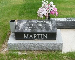 Gertrude Elizabeth Martin