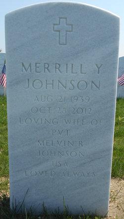 Merrill Y Johnson