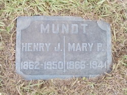 Mary Pauline <I>Rosler</I> Mundt