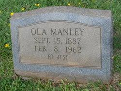 "Ola Ireane ""Nonie"" <I>Henderson</I> Manley"