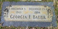 Georgia F Baehr