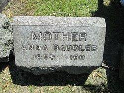 Anna <I>Seiler</I> Baudler
