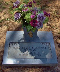 Mary Helen <I>Kilpatrick</I> Freeman