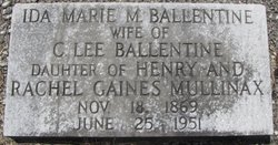 Ida Marie <I>Mullinex</I> Ballentine