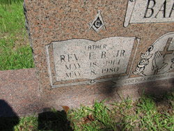 Rev E. B. Barton, Jr