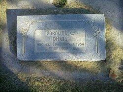 Caroline Celeste <I>Goldman</I> Davis
