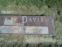 Marguerite <I>Hanley</I> Davis