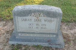 Sarah Jane <I>Barnett</I> Wood