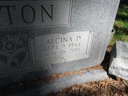 """Alcina Marie """"Tina"""" <I>Durocher</I> Barton"""