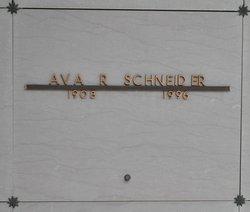 Ava R Schneider