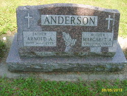 Margaret Agnes <I>Toman</I> Anderson